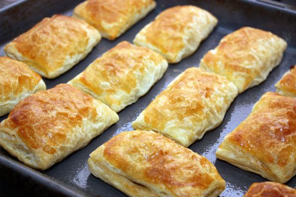 Пироги с мясом из слоёного теста рецепты
